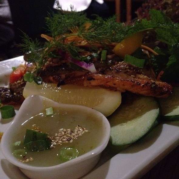 Grilled Ocean Trout Salad @ Xage Vietnamese
