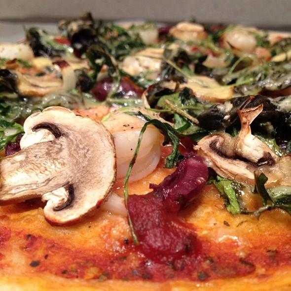 Prawn And Basil Pizza @ Home