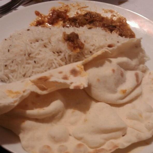 Naan And Jheera  Rice