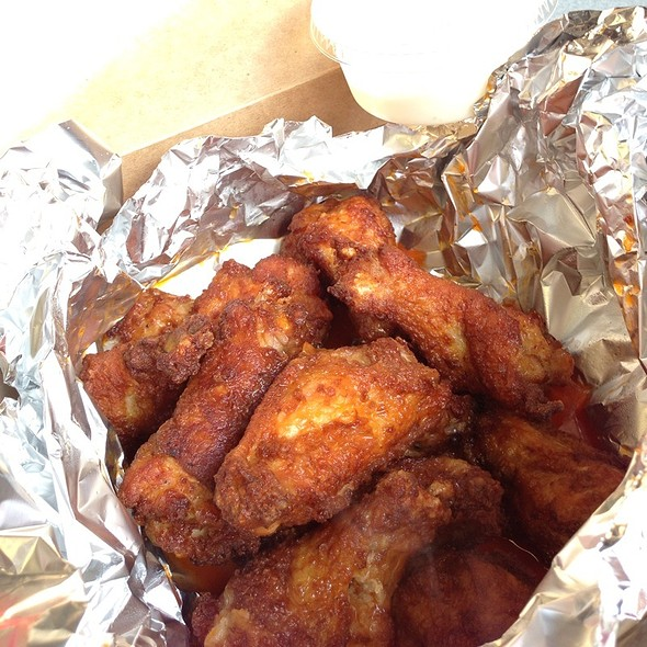 Wings @ DP Dough