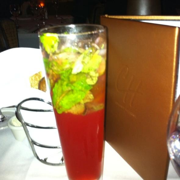 Pomegranate Mojito - Chart House Restaurant - Mammoth Lakes