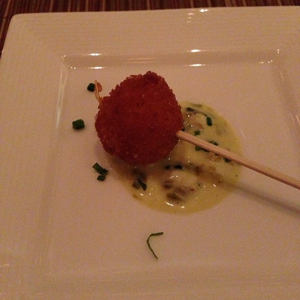 Deepfried Risotto With Pancetta @ Vitae