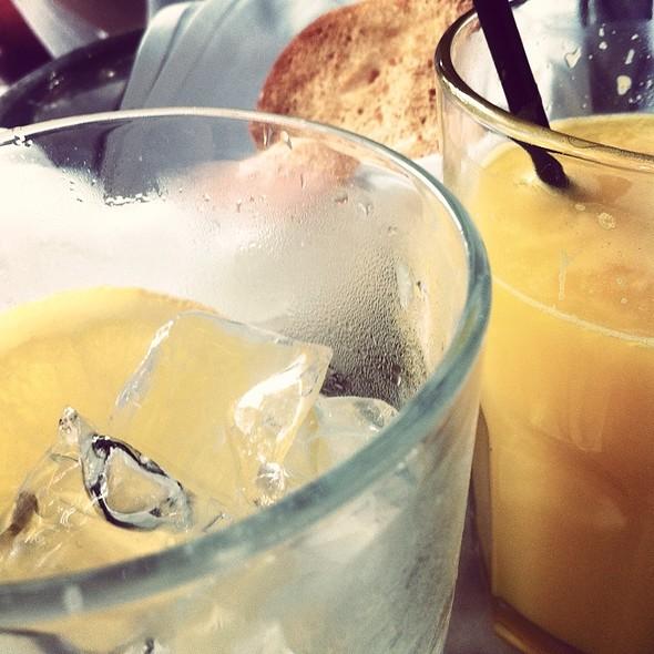 Lemonade And Orange Juice @ Croque Madame