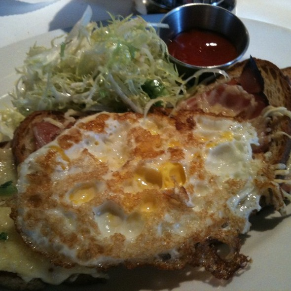 Croque Monsier With Egg - Mon Ami Gabi - Reston, Reston, VA