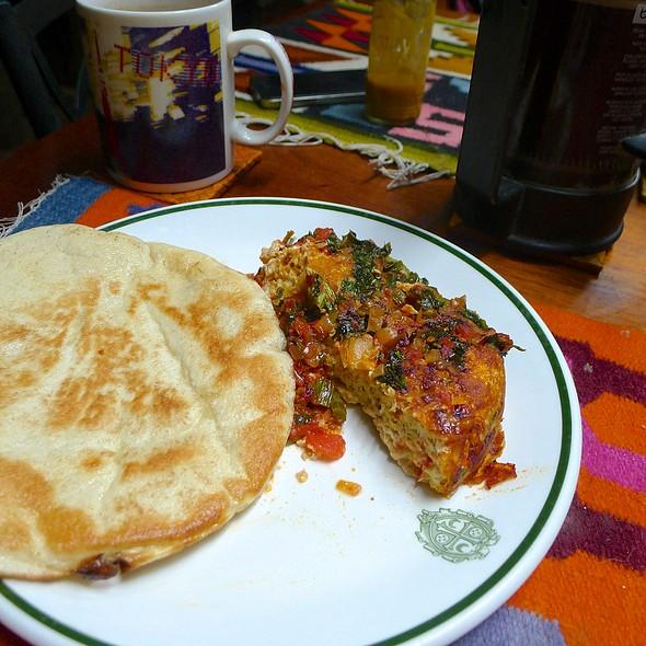 Tortilla Española con Pan Pita