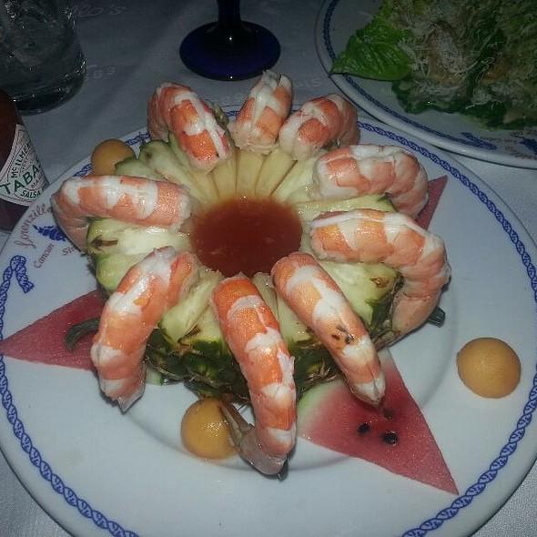 Shrimp Cocktail @ Lorenzillo's Los Cabos