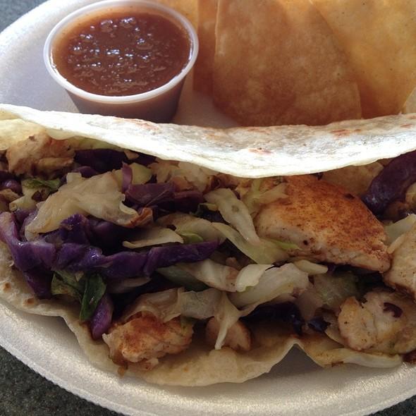 Cajun Mahi Mahi Tacos