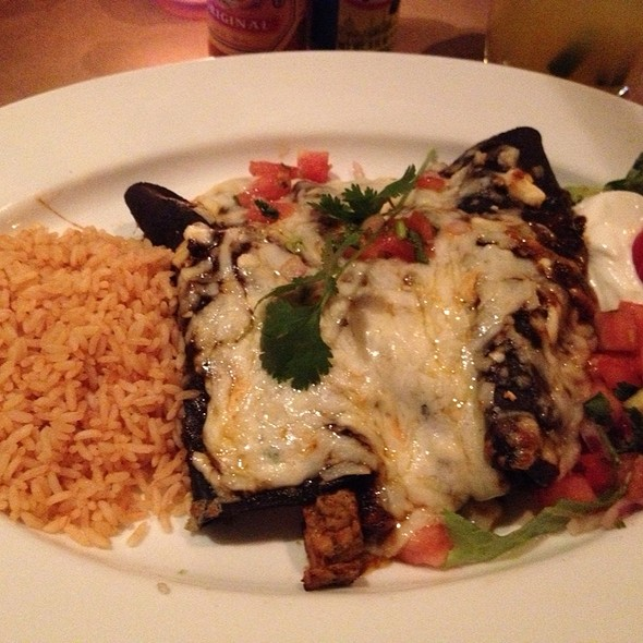 Blue Corn Enchiladas - Agave, New York, NY