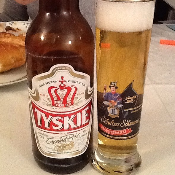 TYSKIE beer @ Home Sweet Home Sir Aqua
