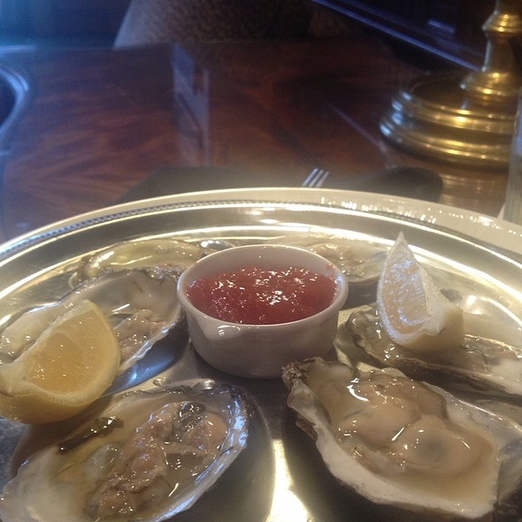 Oysters - Explorers - Royal Sonesta Harbor Court Baltimore, Baltimore, MD
