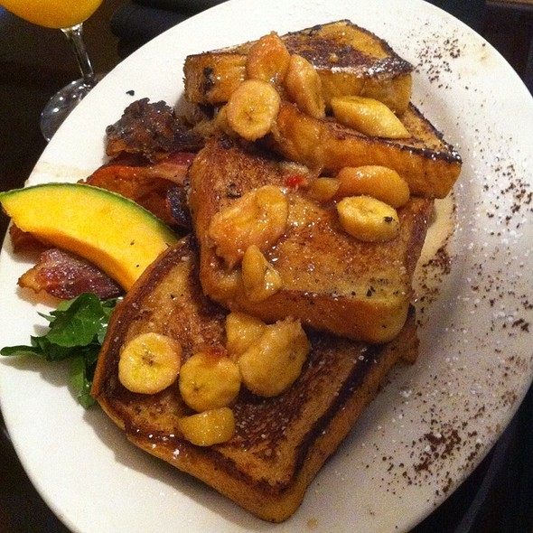 Banana Foster French Toast