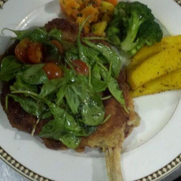 14 Oz. Veal Chop Milanese @ La Dolce Vita