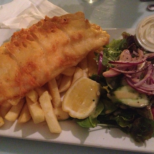 Fish and Chips @ Hotel Bondi