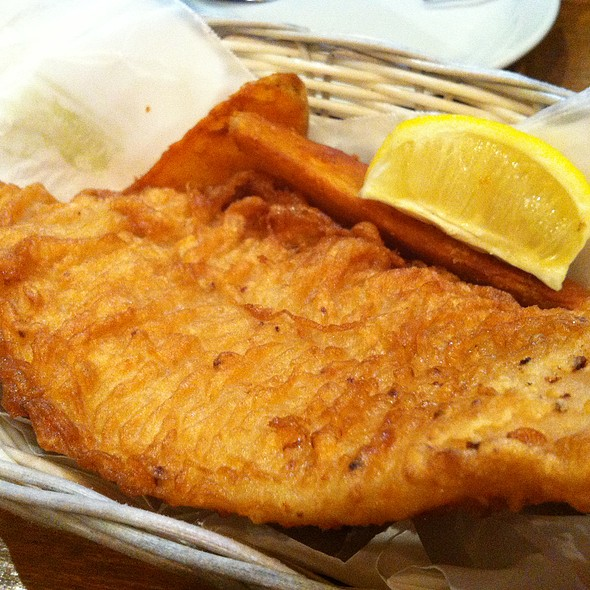 Fish and Chips @ The Sizzlin' Pepper Steak