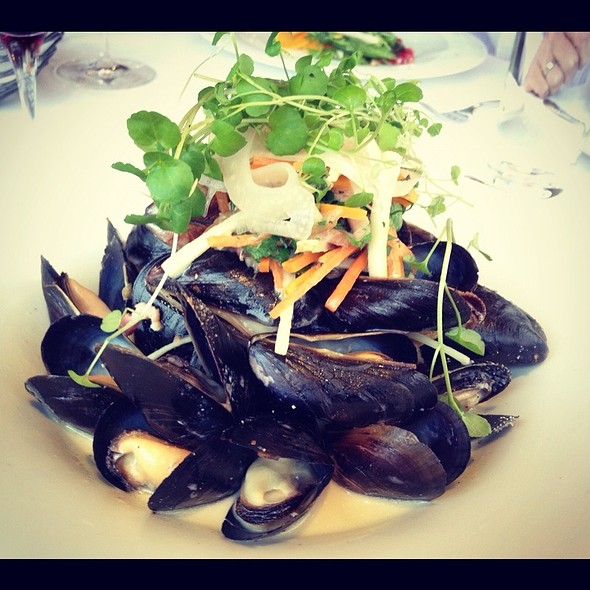 East Coast Mussels  - Vineland Estates Winery Restaurant, Vineland, ON