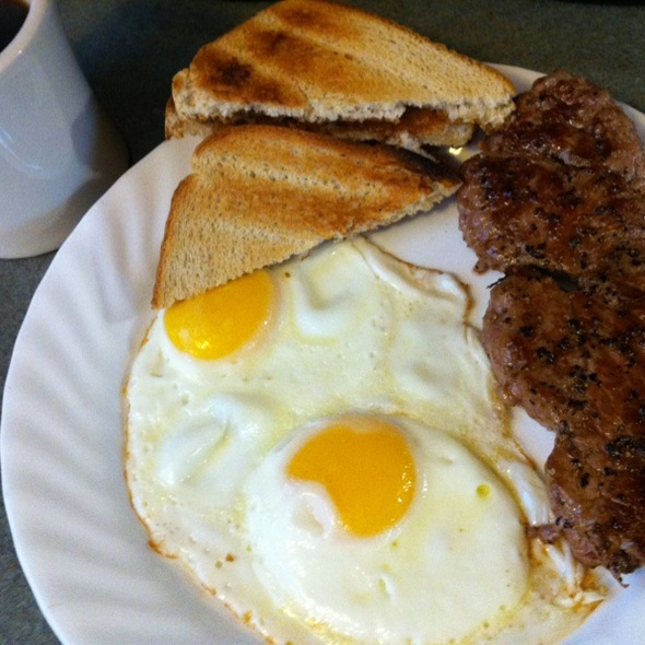 Steak and Eggs @ Whatihadfordinner