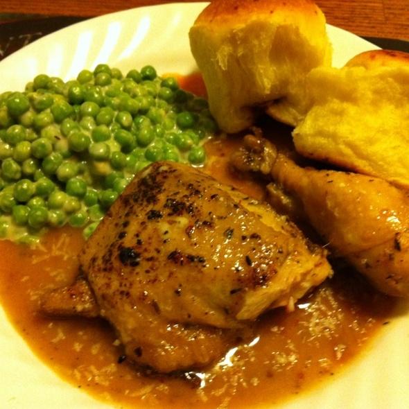 Roasted Chicken Leg @ Whatihadfordinner