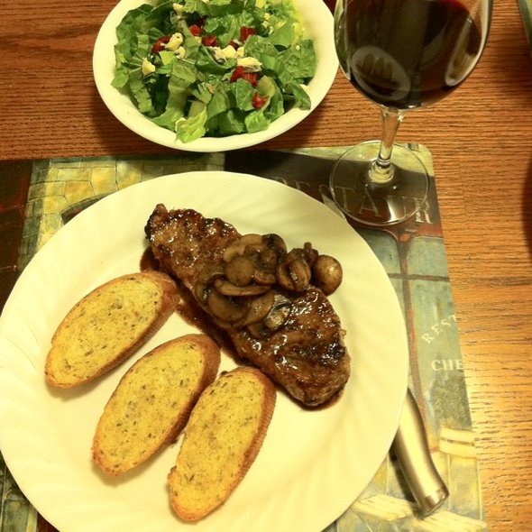 New York Strip Steak @ Whatihadfordinner