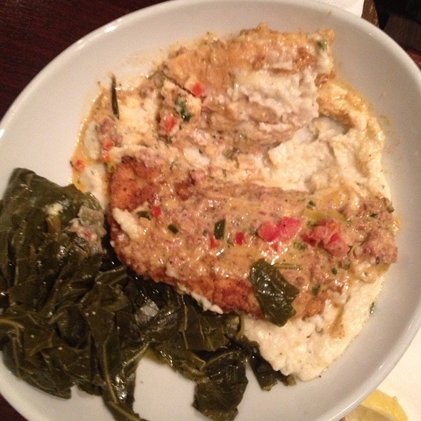 Palm valley fish camp buttermilk fried chicken with for Ponte vedra fish camp