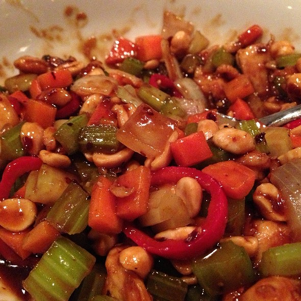 Kung Pao Chicken @ Shiso Tavern