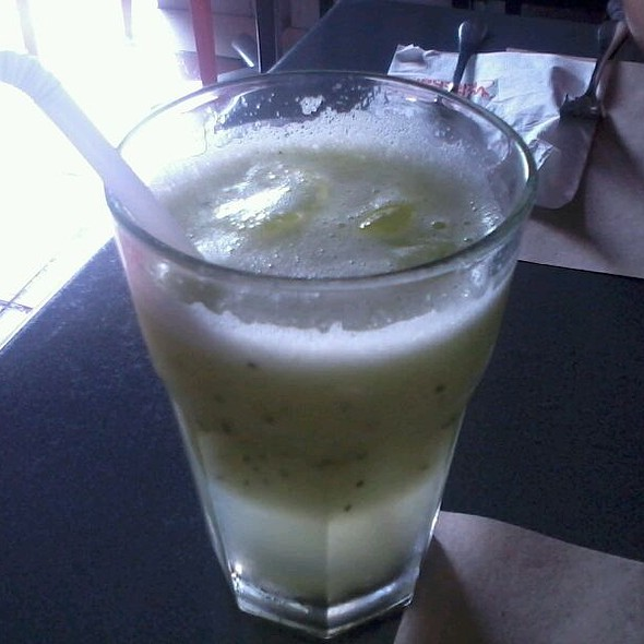 Fresh Kiwi Juice @ Wicked Kitchen Katipunan