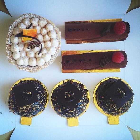 Assorted Desserts @ Thomas Haas Patisserie