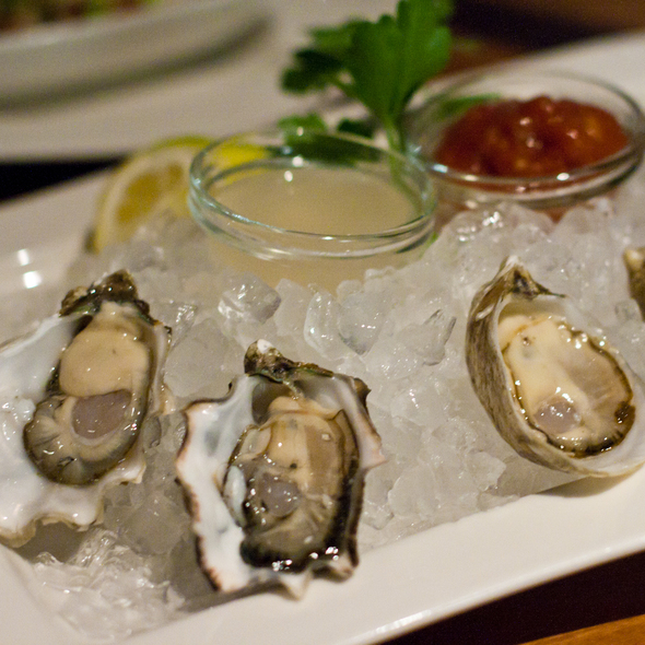Oysters @ Seastar Restaurant & Raw Bar
