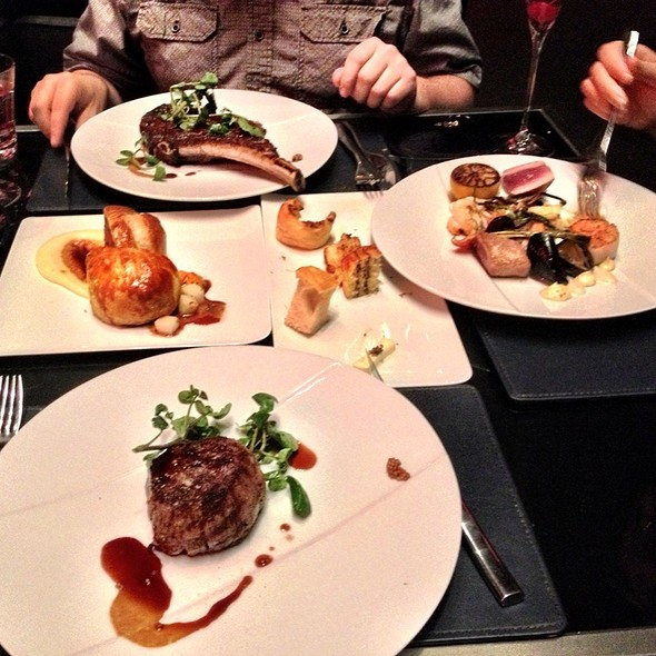 Dinner - Gordon Ramsay Steak - Paris Las Vegas, Las Vegas, NV