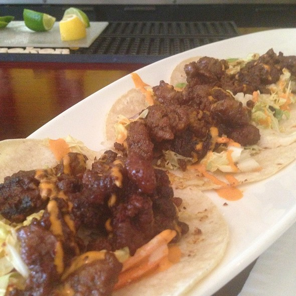 L.A. Short Rib Tacos - Blue Bamboo Hip Asian Kitchen, Jacksonville, FL