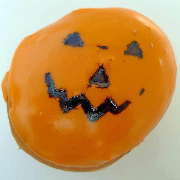 The Pumpkin Doughnut @ Krispy Kreme