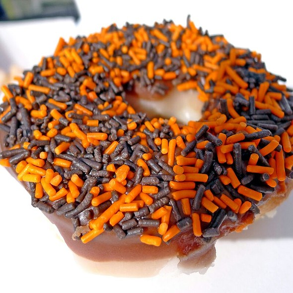 The Sprinkle Doughnut @ Krispy Kreme