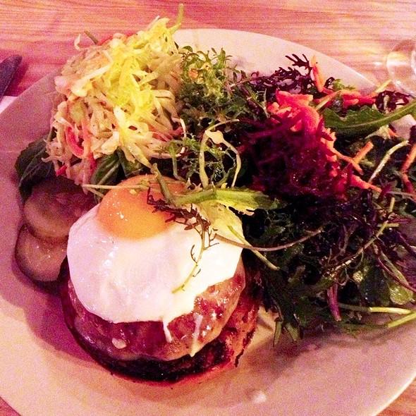 Pork Burger @ Farmhouse Tap & Grill