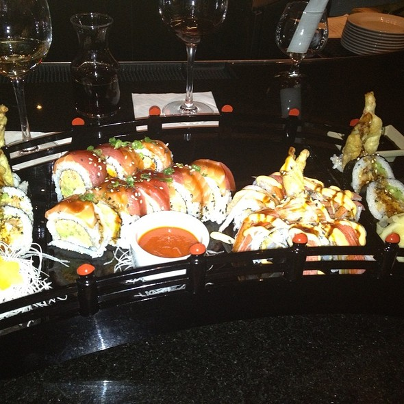 Mt. Fuji Roll, Kamikaze Roll & Spider Roll - AZN Restaurant - Charlotte, Charlotte, NC