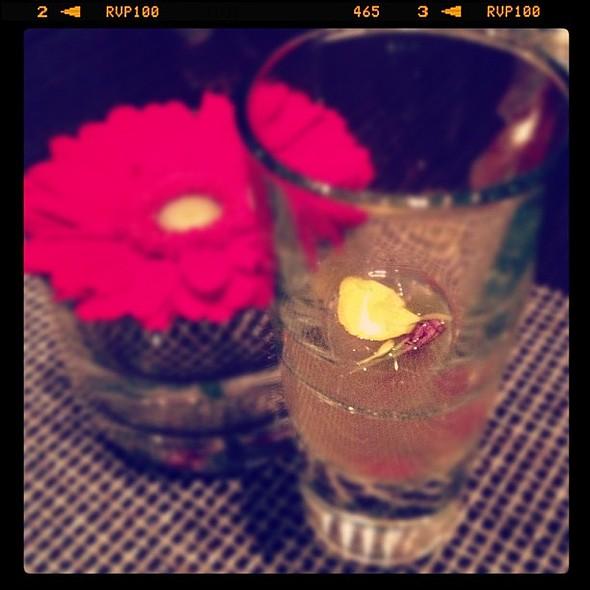 Ginger Consommé. Fennel Gelee, Goji Berry, Mint Oil @Sen5esTO www.gwailo.ca @ Sen5es Restaurant & Bar