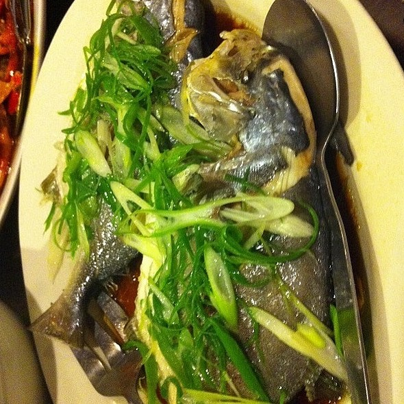 Steamed Fish With Soya Sauce @ Chapter One Café