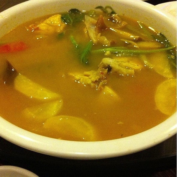 Braised Fish Head Soup @ Ocean Bay Seafood House