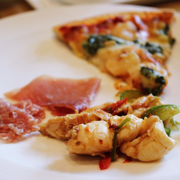 Lobster meat and Italian deli @ Cafe Ilang Ilang