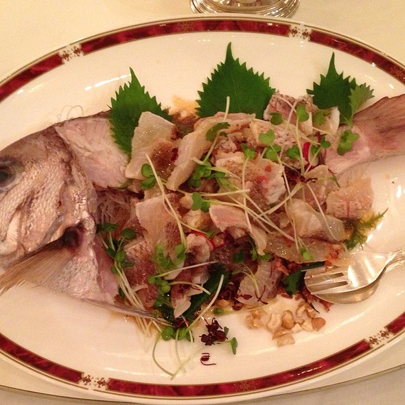 Yuzu-Flavored Red Sea Bream A L'orientale @ Nara City, Nara Prefecture