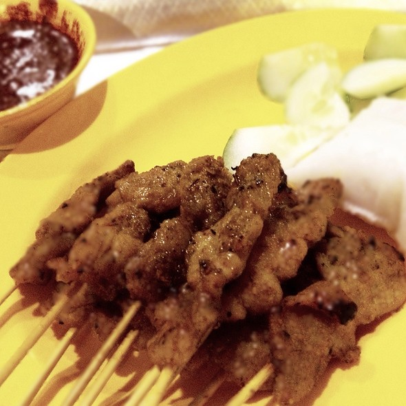 Chicken satay @ Singapore Food Trail @ Singapore Flyer