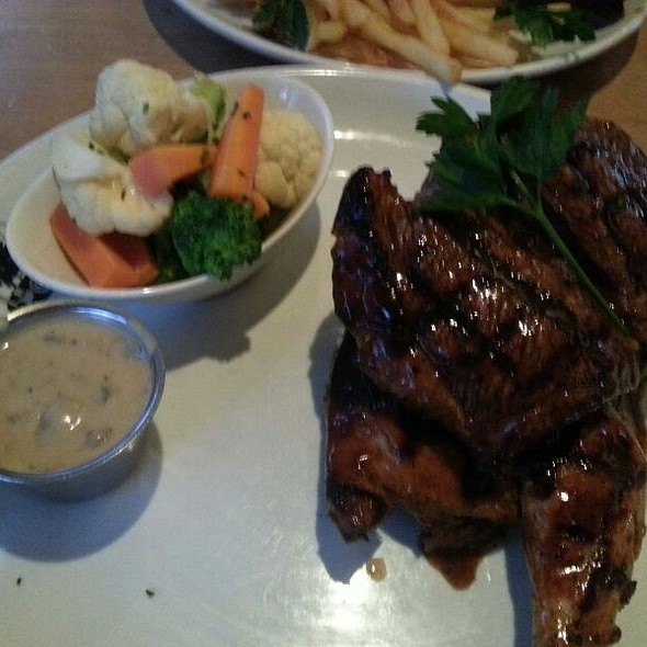Half Chicken And Rump Steak Combo At Ribs Rumps Sydney Olympic Park