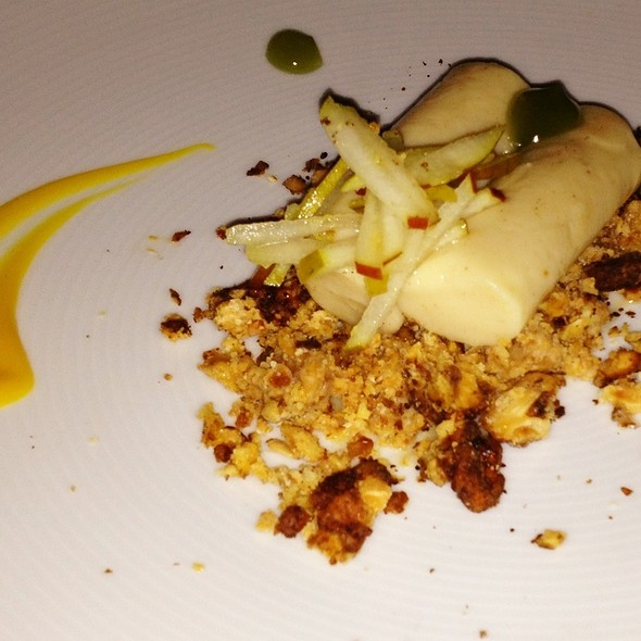 Brown Butter Pear Curd - Earth at Hidden Pond, Kennebunkport, ME