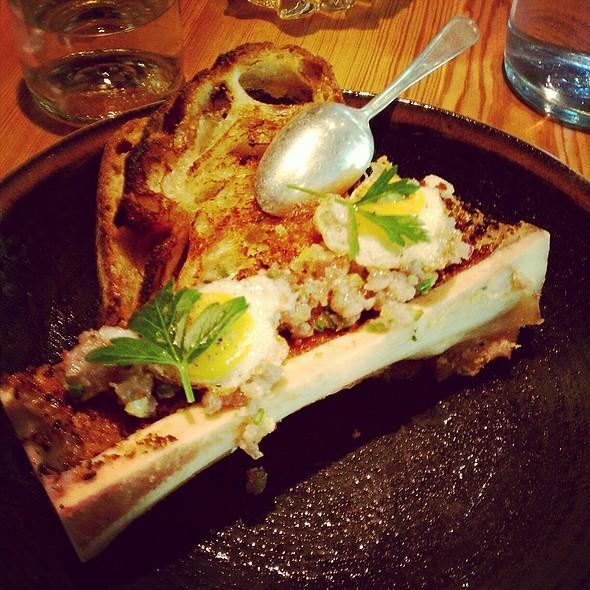 Bone Marrow, Tuna Tartare, Fried Quail Eggs @ The Spence