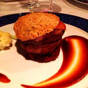 Beef Tenderloin And Braised Short Rib