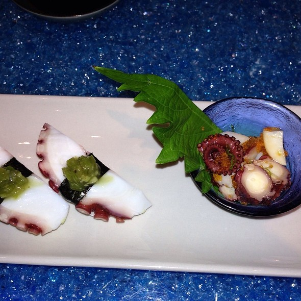 Baby Octopus and Seaweed - O Fine Japanese Cuisine - Laguna Beach, Laguna Beach, CA