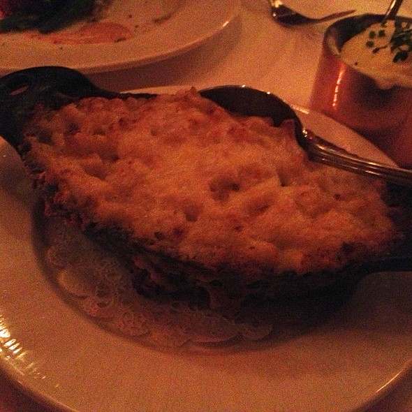 Mac and Cheese @ Strip House Steak House