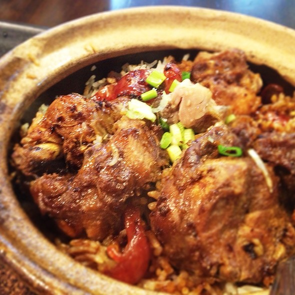 Claypot Rice With Chicken @ Malaysian Food Street @ Resorts World Sentosa