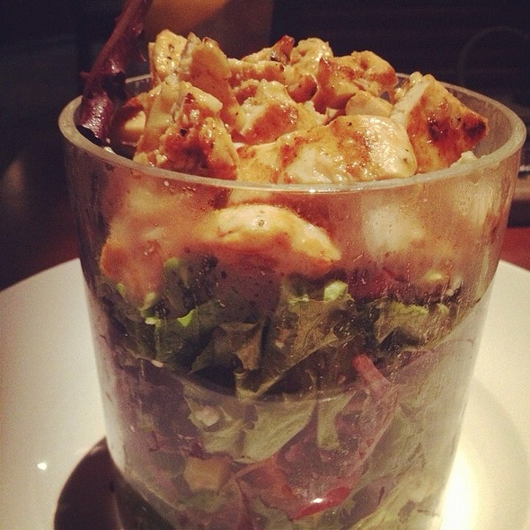 Chicken Salad Cylinder @ Seasons 52 Dallas