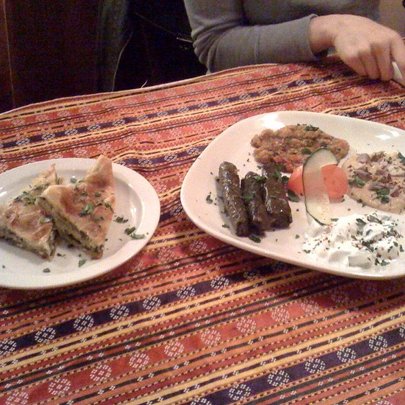 Meze Plate and Borek