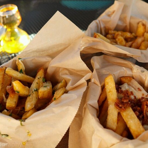 Trio Of Fries @ Rogue Kitchen and Wetbar