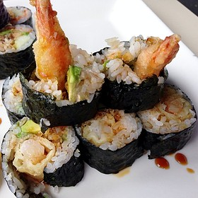 Crunchy Tempura Shrimp Roll Asia Bay